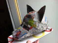 Fabriquer des masques en Papier (pas) mâché… | Toysfab