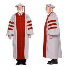 MIT PhD Graduation Cap & Gown. Doctoral Regalia made of premium ...