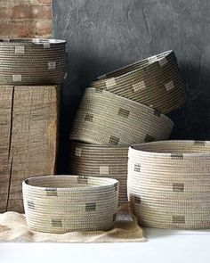 Eileen Fisher Senegal Baskets - Garnet Hill