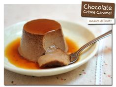 Chocolate Creme Caramel