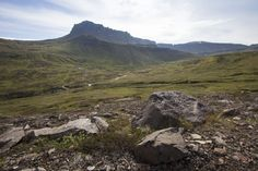 On the other side lies Loðmundarfjördur, North-East Iceland