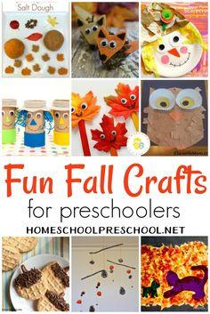 10 Fabulously Fun Fall Crafts for Preschoolers