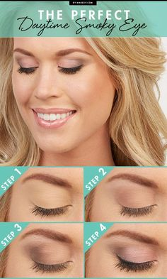 When done correctly, a daytime smoky eye can look great and draw attention to your eyes by emphasizing their color and shape! Here's a four step tutorial to creating this subtle beauty look.