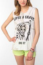 Blood Is The New Black Dig It Muscle Tee  #UrbanOutfitters