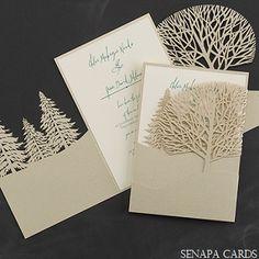 winter wedding invitations http://www.senapahome.com/blog/winter-wedding-invitations/