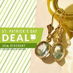 We are happy to announce 35% OFF on our Entire Store. Coupon Code: GREEN.  Min Purchase: N/A.  Expiry: 17-Mar-2017.  Click here to avail coupon: https://www.etsy.com/shop/MiaBellaJewelDesigns?utm_source=Pinterest&utm_medium=Orangetwig_Marketing&utm_campaign=Coupon%20Code #etsy #etsyseller #etsyshop #etsylove #etsyfinds #etsygifts #musthave #loveit #instacool #shop #shopping #onlineshopping #instashop #instagood #instafollow #photooftheday #picoftheday #love #OTstores #smallbiz #sale #coupon
