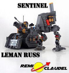 LEGO Warhammer 40000 Leman Russ Sentinel By Remi Claudel | Flickr - Photo Sharing!