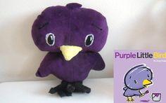 Purple Little Bird:)