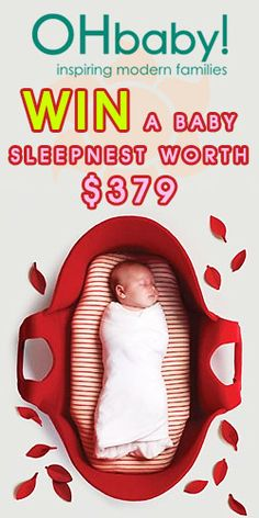 and a Sleepnest! Modern Family, Free Samples, Giveaway, Competition, Baby, Baby Humor, Infant, Babies, Babys