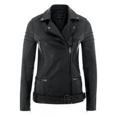 Vye Grey Leather Longline Biker Jacket  www.muubaa.com #Muubaa #AW15