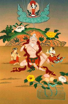 Realise the nature of mind, because it is at the root of both samsaric suffering and nirvanic bliss. When you realise this, rest the mind without meditating, because only deluded people seek enlightenment by abandoning their own minds.  -- Mahasiddha Saraha