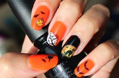 Nail Art │ 10 nail art ideas for Halloween. From beginner to advanced. / Polished Polyglot