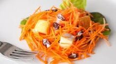 Pineapple Carrot Salad. Only use Carrot, Pineapple (fresh) and Rasins. Best. Snack. Ever. I love it.