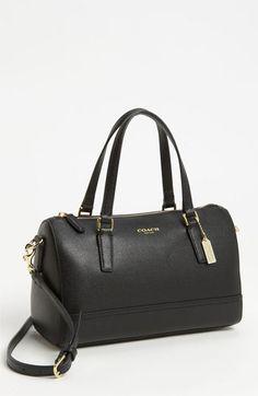 COACH 'Mini' Leather Satchel