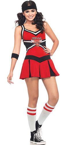 Chicago Bulls Cheerlearder