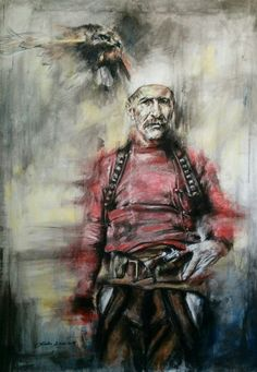Isa Boletini by atelealaudinelezi on DeviantArt Albanian Tattoo, Albanian People, Albanian Culture, Forest Tattoos, Kpop Drawings, Cartoon Profile Pictures, Islamic Pictures, Medieval Art, Pop Art