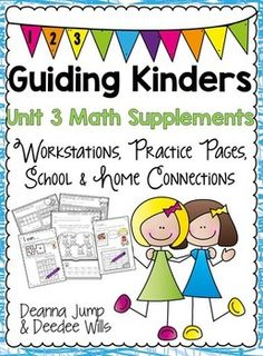 Math Guiding Kinders: Math Supplement UNIT 3
