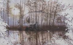 A sleep in a dream  Acrylic no canvas 190x120cm.
