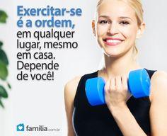 Familia.com.br | Como montar uma sala de exercícios. #Exerciciosfisicos