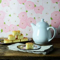 Baath cake with tea by abrowntable, via Flickr @Nik Sharma