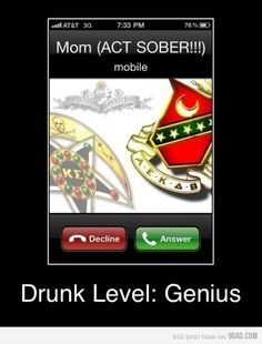 you dont even know how many times this happened this year...that or i decided to drunk dial my mother...
