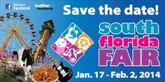 South Florida Fair 2014 is January 17 - February 2