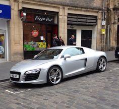 Audi R8. Edinburgh.