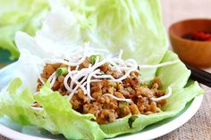 Lettuce Wraps (PF Chang's Copycat Recipe)