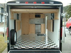 enclosed trailer ideas | trailer 6x12 supermoto junkie enclosed trailer setups thumpertalk this ...