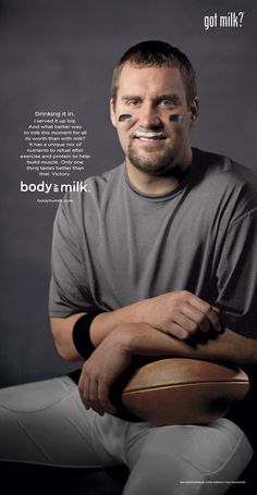 Ben Roethlisberger, Got Milk?