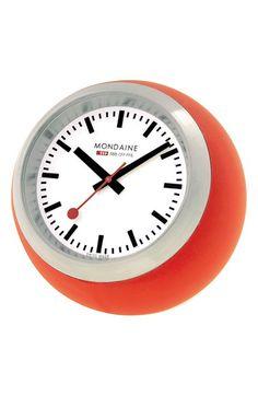 Mondaine 'Globe' Clock