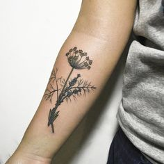 Second one for Annette, fennel and lavender#tattoo #tattoos #ink #inked #tattooed #tattoist #design #amazingink #tattedup #inkedup #tattooedgirl #instatattoo #instatattoos #art #illustration #artist #sketch #flowers #flower #plants #herbs #flowerstagram #flowerporn #botanical #fennel #lavender #handtattoo