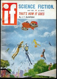 If Science Fiction Digest May 1961 Jack Gaughan Cover Pulp SF | eBay