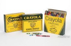History of Crayola crayon packaging on the Dieline School Supplies For Teachers, School Supplies Organization, Crayola Toys, Coloring Books, Coloring Pages, Color Crayons, Crayon Box, Vintage Office, Packaging Design