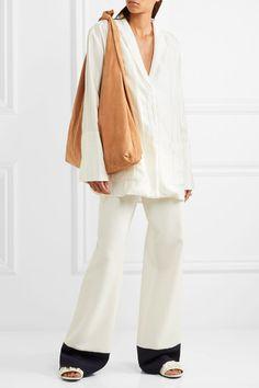 5596e01d60 THE ROW Bindle sleek suede shoulder bag