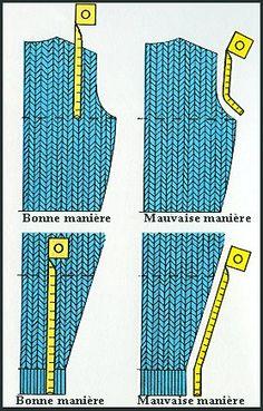 Quelques secrets du tricot
