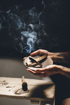 Palo Santo is a mystical tree that grows on the coast of South America and is related to Frankincense, Myrrh and Copal. Translates - Holy Wood - Tree of Life.