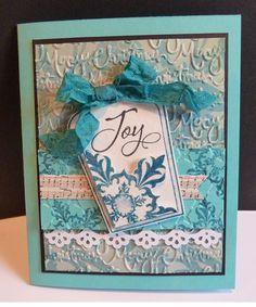 Joy- beautiful DIY cards
