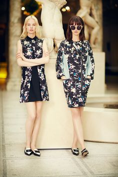 Prints and gorgeous shoes at Erdem Resort 2014