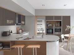 Tomba kitchen range from Second Nature