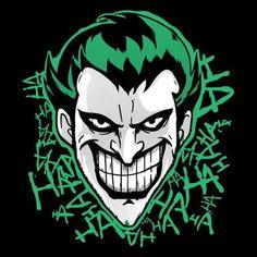 Day of the Shirt: daily t-shirt sales Joker Pics, Joker Art, Joker Batman, Pop Art Wallpaper, Weed Wallpaper, Joker Drawings, Day Of The Shirt, Heath Ledger Joker, Alien Concept Art