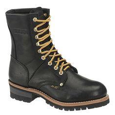 AdTec Men's Oiled Logger Boots