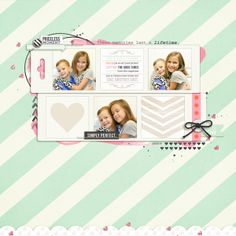 """sweet digital scrapbook layout created by rlma featuring """"worth a thousand words"""" by sahlin studio"""
