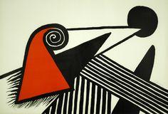 Alexander Calder, Bonnet Phrygienet Barres de Fer @artsy