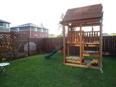 Outdoor Play Forts | Pin by Christine @ Little Brags Blog on Outdoor KIDS play area | Pint ...