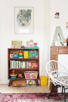 20 Fantastic Kids Playroom Design Ideas – Modern Home Modern Playroom, Playroom Design, Vintage Playroom, Vintage Kids Rooms, Colorful Playroom, Kid Playroom, Playroom Decor, Playroom Ideas, Nursery Ideas