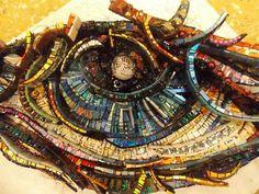 Mosaico Mosaic Diy, Mosaic Crafts, Mosaic Glass, Mosaic Tiles, Stained Glass, Glass Art, Mosaic Designs, Mosaic Patterns, Mosaic Madness