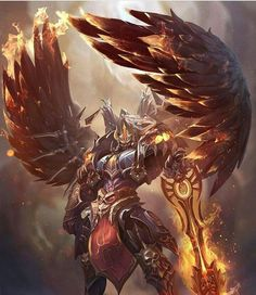 Kai Fine Art is an art website, shows painting and illustration works all over the world. Fantasy Armor, Dark Fantasy Art, Medieval Fantasy, Armor Concept, Concept Art, Fantasy Character Design, Character Art, Angel Warrior, Fantasy Monster