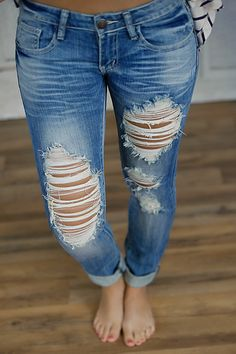 Details about NEW WITH TAGS MACHINE JEANS RIPPED DISTRESSED ...