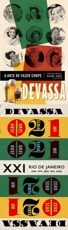 DEVASSA Cervejaria - (Design by Muffa Comunicação) - muffa.com.br